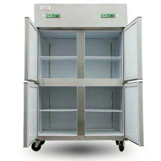 Ready stock $1380!! New 4 doors chiller with freezer. fridge freezer chiller fridge freezer chiller fridge freezer chiller fridge freezer chiller