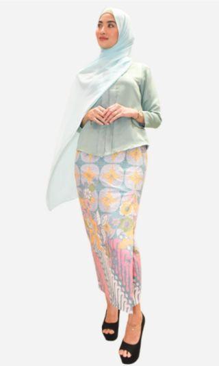 Baju kurung modern batik (Kemboja)