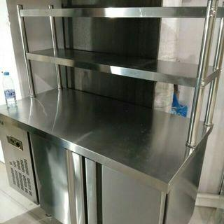 Ready stock $1080 table top, 150cm counter chiller with freezer. Chiller freezer chiller freezer chiller freezer chiller freezer chiller freezer chiller.