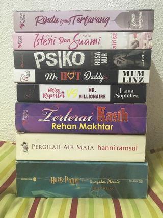 Novel Melayu Terpakai / Preloved