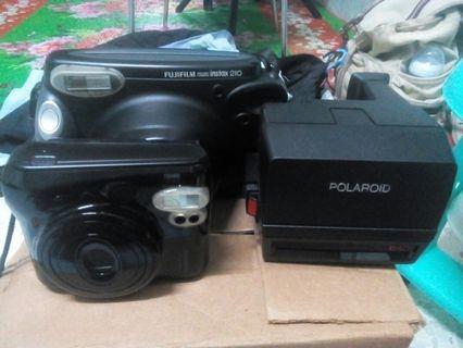 Fujifilm and Polaroid by instax family