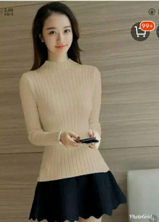 Sweater kaos rajut