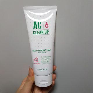 [New Instocks] Etude House AC Clean Up Acne Daily Cleansing Foam [made in korea]