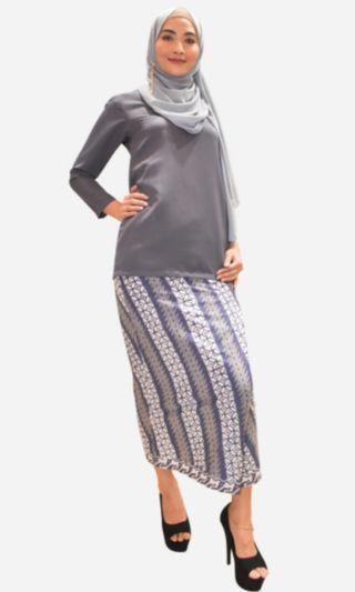 Baju Kurung batik morden (Seroja)