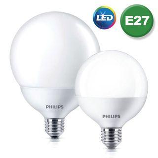 飛利浦 Globe LED 球型燈膽 2700K 暖黃光