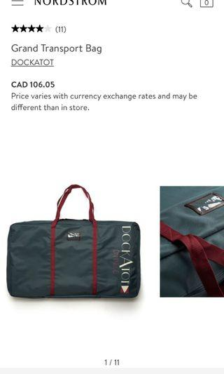 DockATot Grand Transport Bag ( Brand New )