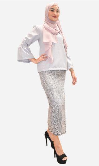 Baju Kurung modern batik (Teratai)