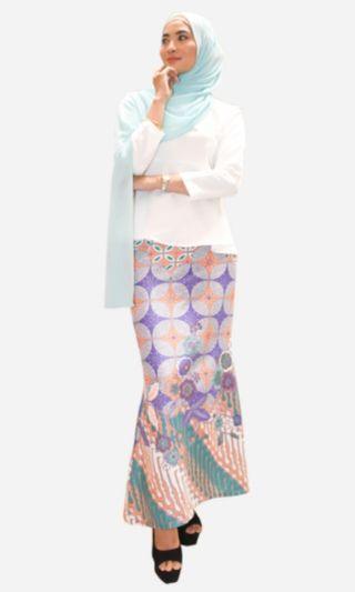Baju kurung batik morden (Tulip)