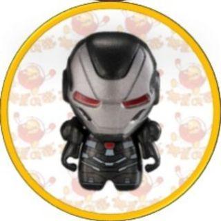(包郵) 扭蛋 - MARVEL Avengers 角色造型公仔擺設 第三彈 (戰爭機器 War Machine)