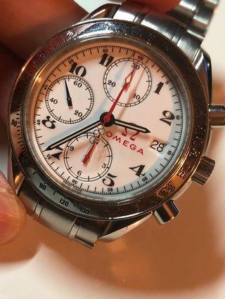 💯原裝Omega Olympic 計時自動手錶  Speedmaster Chronograph Watch