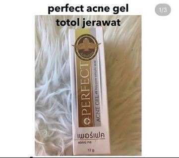 Perfect acne gel obat totol jerawat