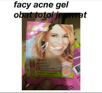 Facy acne gel