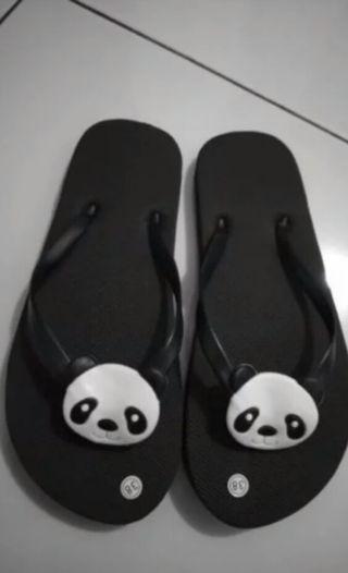 #mauvivo sandal panda