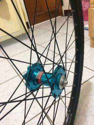 Novatec hub,mavic rim,shimano spraket free kenda tire