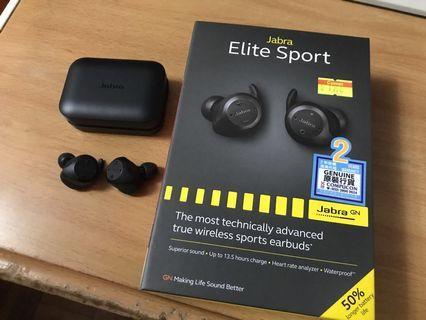 Jabra Elite Sport 無線藍牙耳機