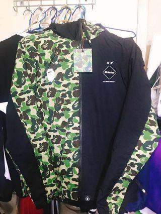 FCRB x BAPE Separate Practice Jacket (Mixed)