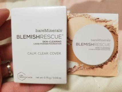 全新 Bareminerals Blemish Rescue Skin-clearing Loose Powder Foundation