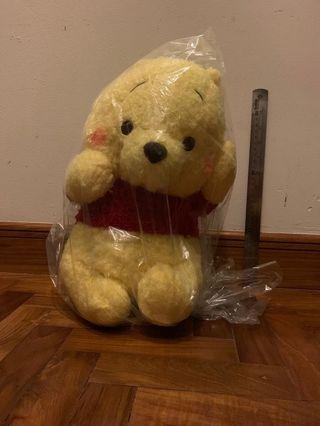 🚚 [Toreba] 43cm Pooh - Red Cheek Mega Jumbo Rolling Plush