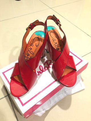Heels Merah Carlo rino