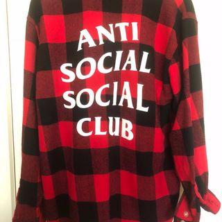 ASSC red and black flannel