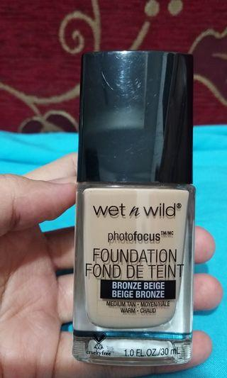 Wet n wild Foundation (preloved)