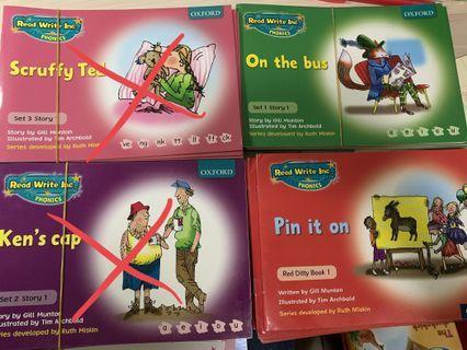 Oxford RWI PHONICS books