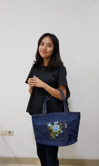 Denim Shoulder-Bag