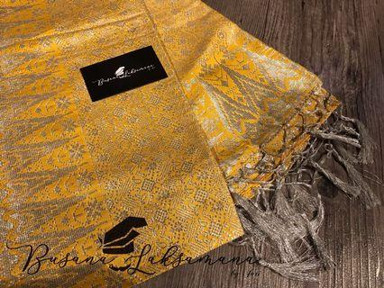 Selendang Songket Teja (yellow)