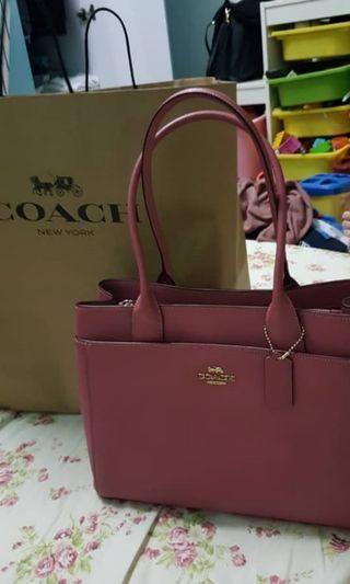 Authentic Original Coach Leather Handbag