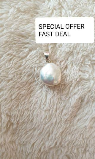 Coin fresh water pearl