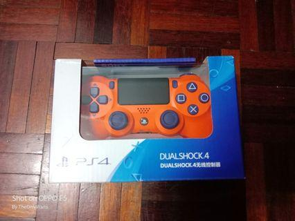 PS4 Controller Orange Sunset