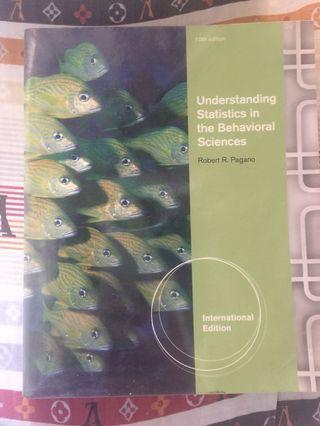 Behavioral Statistics by Pagano