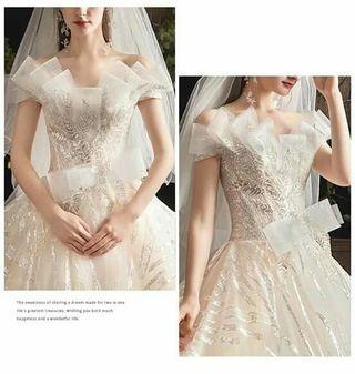 ANGLE WEDDING GOWN