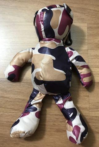 Teddy bear shape foldable eco bag