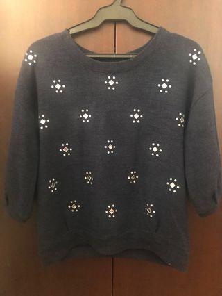 Bejeweled Sweater / Pullover