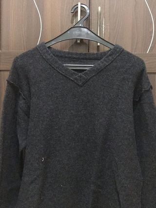 Sweater Bulu Knitware V neck