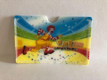 麥當勞2008奧運紀念咭片套