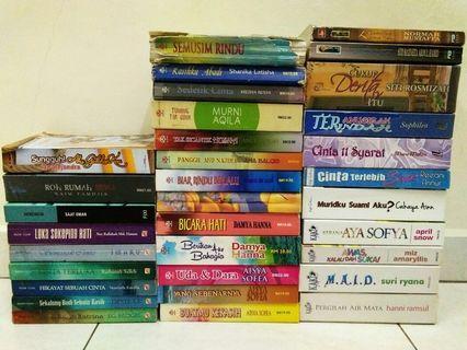 Novel Melayu KakiNovel, Alaf21, Fajar Pakeer dan pelbagai lagi