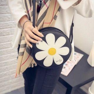 sling bag handbag flower tote