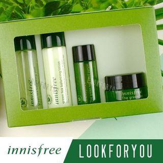 Innisfree Green tea Special Travel Kit