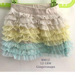 Gingersnaps cute skirt 12-18mos Girls Skirt