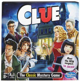 🚚 (New) Clue Board game