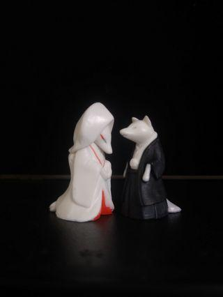 🚚 扭蛋  狐狸嫁衣