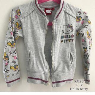Authentic Hello Kitty Jacket 2-3yo for Girls