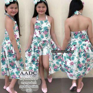 Dress for kids with tour band