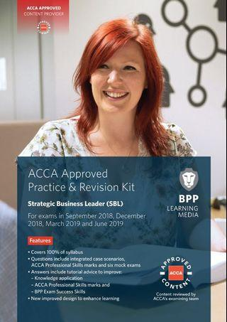 BPP SBL Revision Kit and Workbook (ACCA)