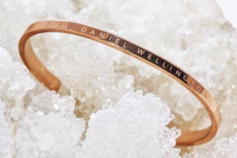 Daniel Wellington Bangle Classic Cuff 女裝手鐲 金色 Gift 禮物