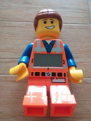 Lego Movie Emmett clock