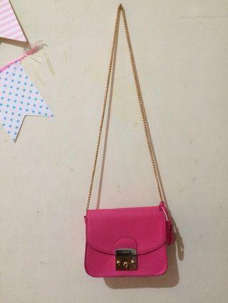 Pink Sling Bag furla