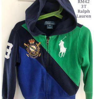 Authentic Ralph Lauren Outerwear for 4yo Boys